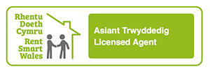 PMA Lettings are a licenced Agent of Rent Smart Wales